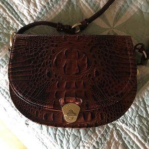 Brahmin saddlebag style shoulder bag